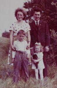 Familie in den 1960er