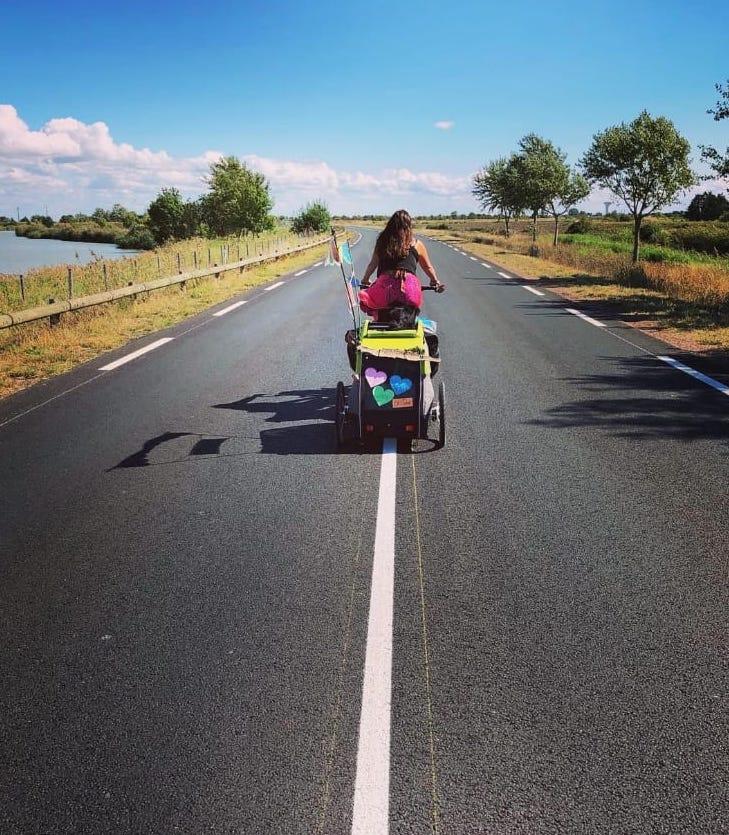 Radreise mit Hund (velo.weit)
